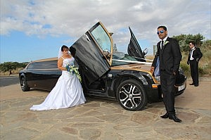 mornington peninsula wedding limo