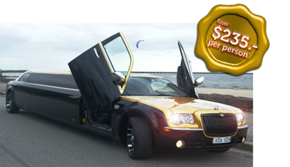 wine tours limo hire